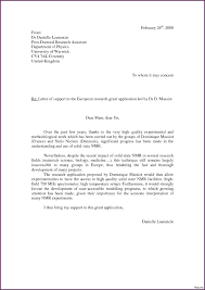 Letter Of Support Sample Template Examples Of Letters Of Support Child Support Agreement Letter 4
