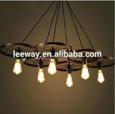 industrial look lighting industrial look lighting vintage industrial style rustic iron carriage wheel large pendant lamp