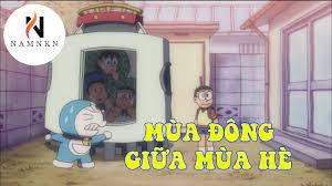 Hoạt Hình Doraemon - Khăn Trải Bàn Ẩm Thực, Việc Làm Thêm Của Người Tuyết -  mùa đông