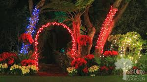 experience a white bright at garden of lights