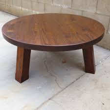 small round oak coffee table full size of