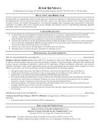 Objective Templates For Resume Health Care Resume Objective Sample
