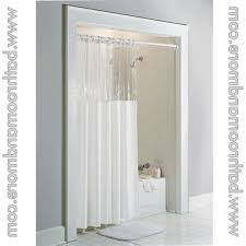 carnation home fashions standard window shower curtain clear top inside clear top shower curtain delightful clear
