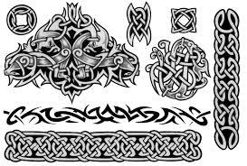 тату с узорами кельтские мужские женские значение 110 фото