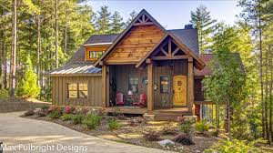 blowing rock cottage rustic mountain house plan