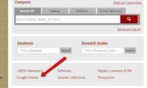 Journal Articles And Google Scholar Finding The Full Text