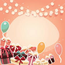 Free Birthday Backgrounds Coloured Birthday Background Design Vector Free Download