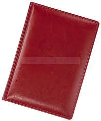 <b>Ежедневник</b> NEBRASKA, <b>недатированный</b>, красный «Адъютант ...