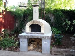 outdoor pizza oven plans bckyrd pizz construction design photos diy kits