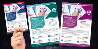 Marketing Flyers Templates Medical And Healthcare Marketing Flyers