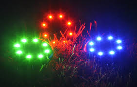 Red Solar Pathway Lights Mixed Set Red Green And Blue Solar Pathway Lights Bakiya