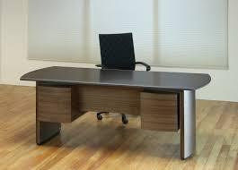 crescent stone top executive desk