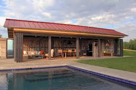 House Pool House Garage Plans