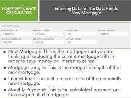 Home Refinance Calculator