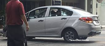 proton new car release2016 Proton Persona spied completely undisguised