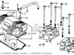 honda cb400t hawk 1980 a usa parts lists and schematics honda cb400t hawk 1980 a usa cylinder head cover camshaft holder