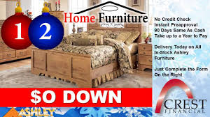 Montgomery Home Furniture Crest Financial No Credit Check Ashley