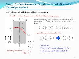 chapter 3 one dimensional steady state conduction with thermal generation