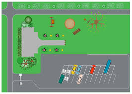 Drawings Site Landscape Drawing Supermarket Parking Site Plans Supper Market