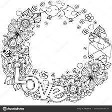 25 Ontwerp Kleurplaat Bloemen Hartjes Mandala Kleurplaat Voor Kinderen
