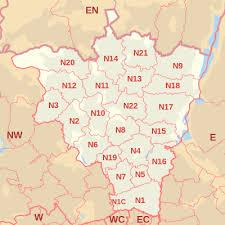 Image result for map of Tottenham Hale, N15, N17