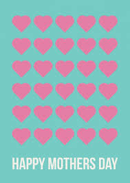 Happy Mothers Day Lots Of Hearts Mothers Day Cards Send Real