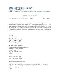 Dr Peter Vadasz Professor Recommendation Letter