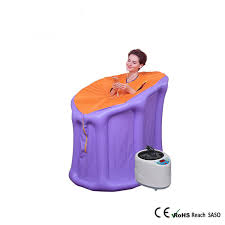 portable steam bath online. steam sauna room portable tent steamer family inflatable relaxing sweat and detoxing bath online