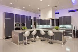 modern lighting design houses. Modern Elegent Design Of The Led Kitchen Light That Has Cream Floor Can Be Lighting Houses
