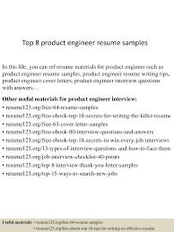 Product Engineer Resume Top224productengineerresumesamples224conversiongate224thumbnail24jpgcb=124300222432242 16