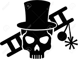 Chimney Sweeper Chimney Sweeper Skull With Ladder And Equipment