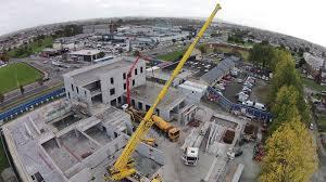 coolock primary care centre concrete frame build