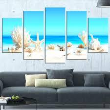 5 piece canvas wall art set seashells on tropical beach wrapped pc sets 5 piece canvas wall art set  on tropical wall art sets with 5 piece canvas wall art set five multi sample great india vbphotoblog