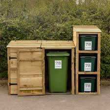 recycling bin storage. Contemporary Bin Wheelie Bin Store X2 And Recycling Bin For 3 Bins With 5 FREE  Personalised Address Labels Intended Storage Y