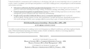 Actuary Resume New Actuarial Science Resume Sample Example Actuary Al Insurance R