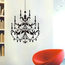 chandelier wall sticker bedroom living room ceiling lantern light lamp birds decal coffee vinyl