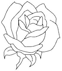 Coloring Pages Of Hearts And Roses Rose Pictures To Color Rose