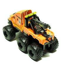 maisto fresh metal builder zone quarry monster orange tow truck maisto fresh metal builder zone quarry monster orange tow truck motorized 6 wheeler