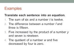 translating equations worksheet jennarocca