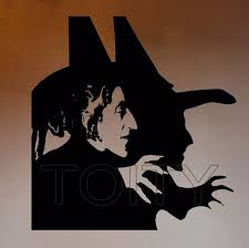 wizard of oz wall vinyl decal wicked witch of the west sticker cartoons home interior bedroom on wizard of oz vinyl wall art with wizard of oz wall vinyl decal wicked witch of the west sticker