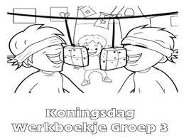 Koningsdag Werkboekje Groep 3 Werkboekjes Printen Op Minipretnl