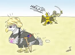 lal salaam لال سلام isil cartoon american imperialism   isil cartoon american imperialism 2