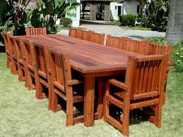 Wonderful Wood Patio Table Modern Furniture Wood Patio Furniture