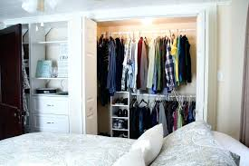 new bedroom without closet
