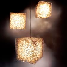 Pendant Lamp Contemporary Acrylic Glass Incandescent Lux By