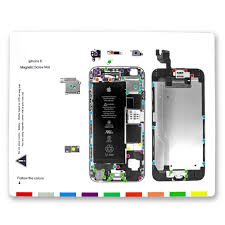 Iphone 6 Plus Screw Size Chart Us 4 39 Sanhooii Screw Magnetic Project Mat Screw Chart Position Dissemble Pad Repair Guide Pad For Iphone7 7plus 6s 6s Plus 6 6 Plus 5s In Hand