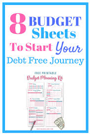 Create A Simple Monthly Budget Template With 8 Printables - A Day In ...