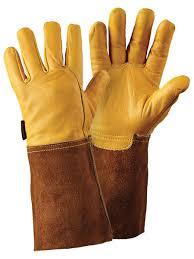 briers premium leather gauntlet glove