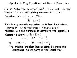 29 quadratic