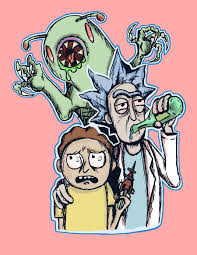 Rick And Morty Designs Entry 57 By Antartanimate For Rick Morty Tshirt Design
